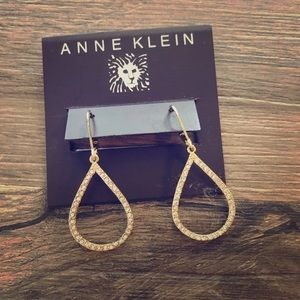 Anne Klein earrings. Never warn.